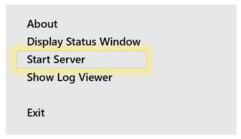 Server Tray Icon