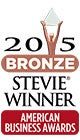 2015 Bronze Stevie Winner American Business Awards