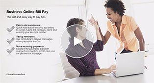 Business Bill Pay Demo