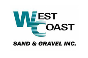 West Coast Sand & Gravel logo